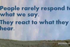 Experience-people-respond
